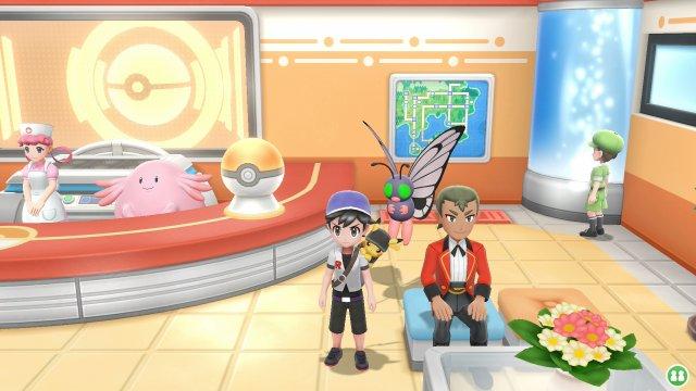 Pokémon Let's Go, Pikachu & Let's Go, Eevee - Move Tutors