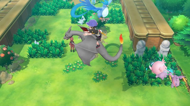 Pokémon Let's Go, Pikachu & Let's Go, Eevee - Wild Pokémon