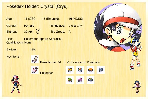 Crystal's Profile