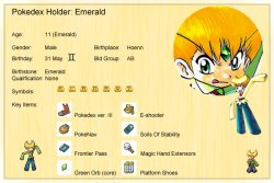 Pok�mon Special Biography - Emerald!