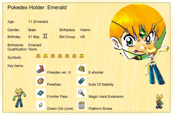 Emerald's Profile
