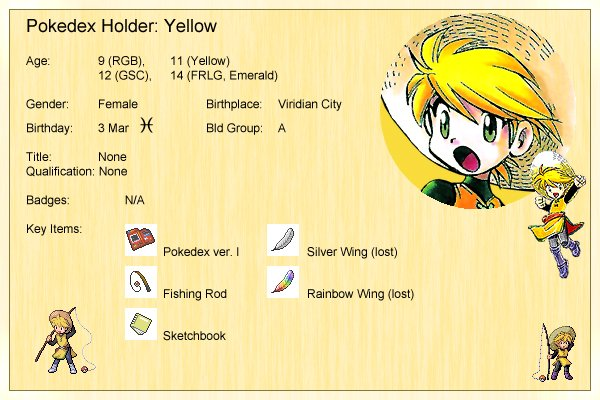 Yellow's Profile