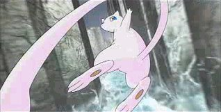 Mew and the Wave Guiding Hero!