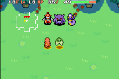 pokemon mystery dungeon blue rescue team how to get exeggcute
