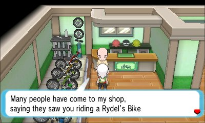 Bike Tricks Omega Ruby give you the other bike