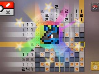 Pok mon picross pre release screenshots for Mural 1 pokemon picross