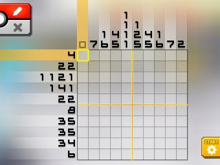 Pok mon picross location listings area 00 for Picross mural 1
