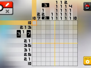 Pok mon picross alt world for Picross mural 1