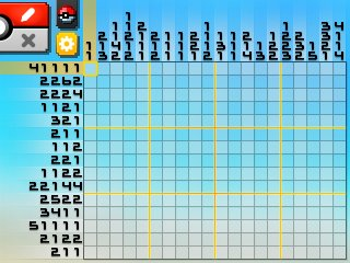 Pok mon picross location listings area 10 for Picross mural 1
