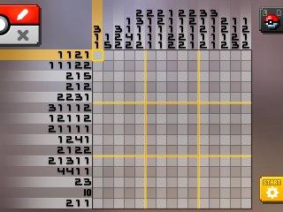 Pok mon picross location listings area 15 for Pokemon picross mural 02