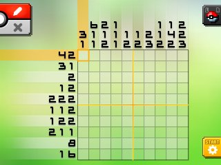 Pok mon picross location listings area 02 for Pokemon picross mural 1