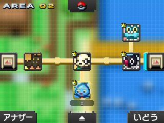 Pok mon picross location listings area 02 for Pokemon picross mural 2