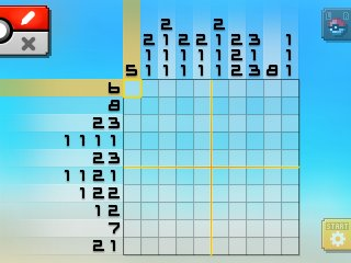 Pok mon picross location listings area 27 for Picross mural 1