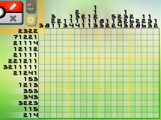 Pok mon picross location listings area 04 for Pokemon picross mural 2