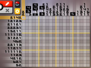 Pok mon picross location listings area 11 alt world for Picross mural 1