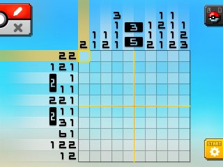 Pok mon picross location listings area 13 alt world for Picross mural 1