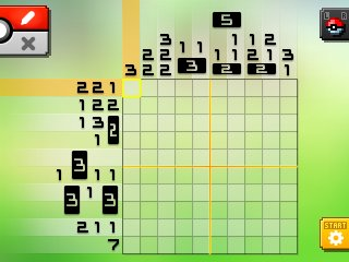 Pok mon picross location listings area 14 alt world for Pokemon picross mural 1
