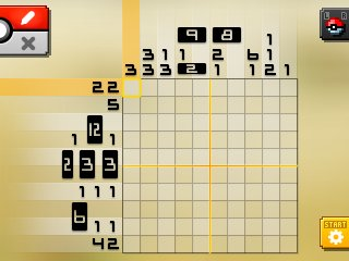 Pok mon picross location listings area 03 alt world for Picross mural 1