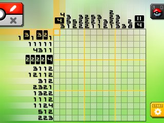 Pok mon picross location listings area 09 alt world for Picross mural 1