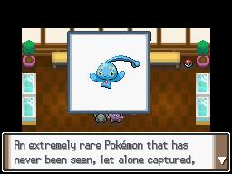 Pokémon Platinum - The National Pokédex