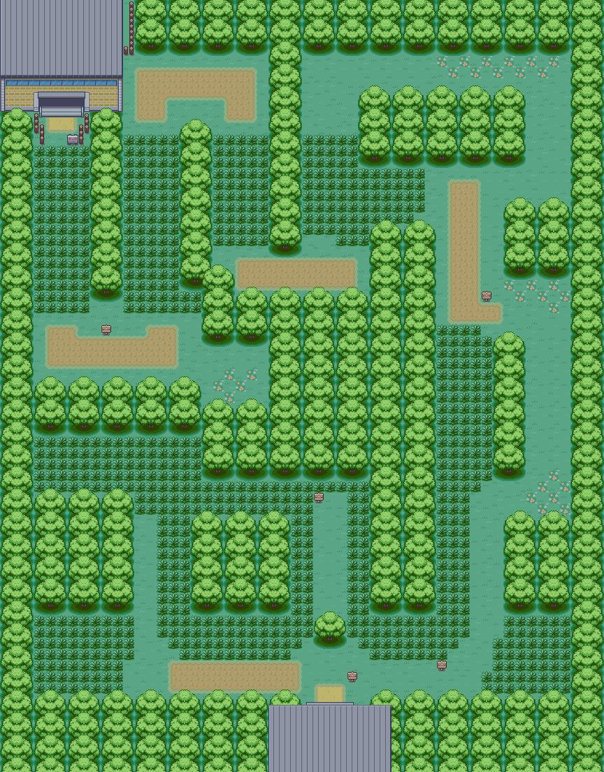 Pok 233 Arth Kanto Viridian Forest