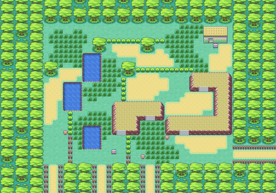 Pok 233 Arth Kanto Safari Zone