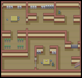 Pokemon Mansion - B1F