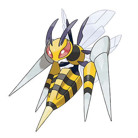 Mega Beedrill Artwork
