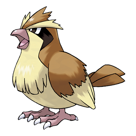 Pidgey Artwork