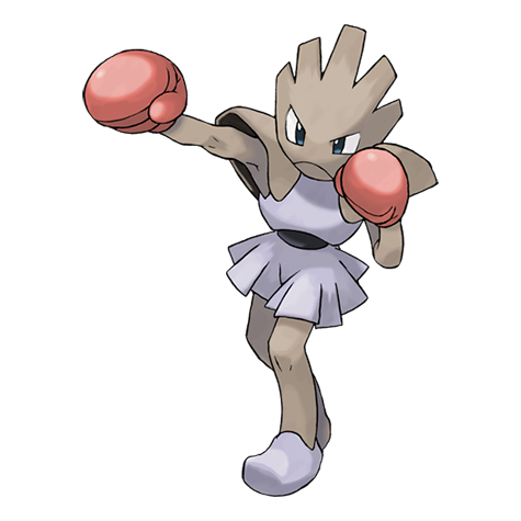 Hitmonchan Artwork