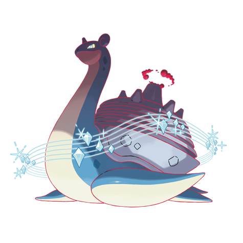 Gigantamax Lapras Artwork