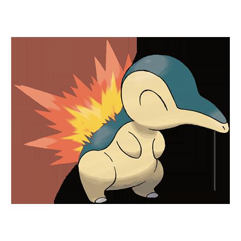 Pokemon - Cyndaquil #155