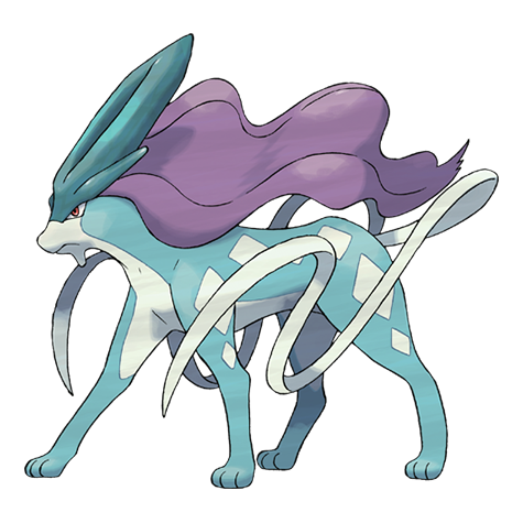 Suicune Artwork