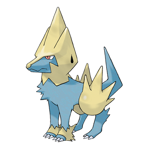 Manectric Artwork