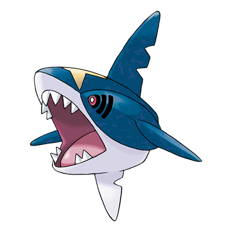 Sharpedo Artwork