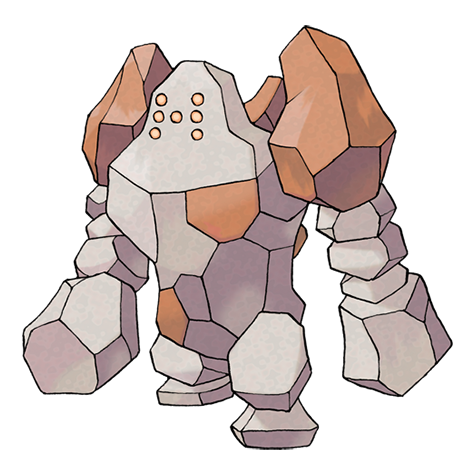 Regirock Artwork