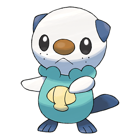 Oshawott Artwork