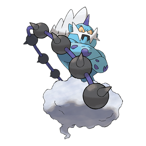 Thundurus Artwork