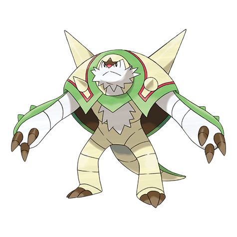 Chesnaught Artwork