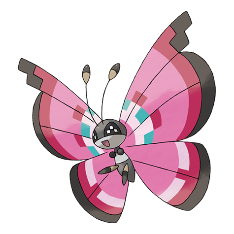 Vivillon Artwork