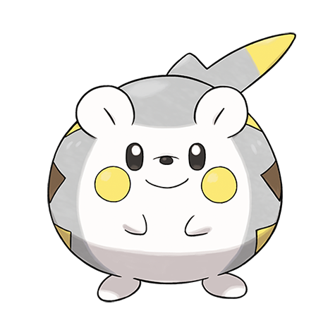 Togedemaru Artwork