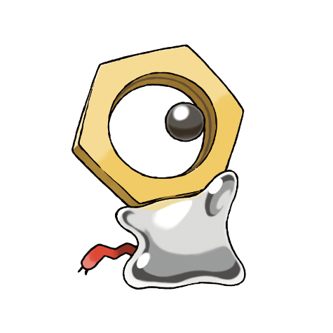 Meltan 808 Serebiinet Pokédex