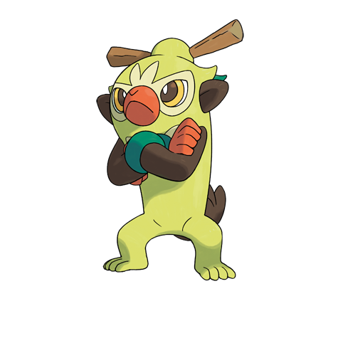 Grookey Serebii / Pokédex entry for #810 grookey containing stats, moves learned, evolution chain, location grookey is one of the starter pokémon available in pokémon sword & shield (releasing late 2019) along with.