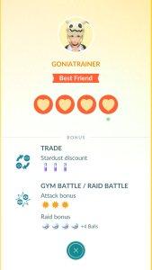 Pokémon GO - Friends & Gifts