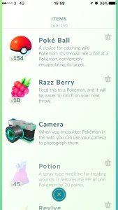 Pokémon GO - Items