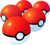 Pokemon Go Pokeballs
