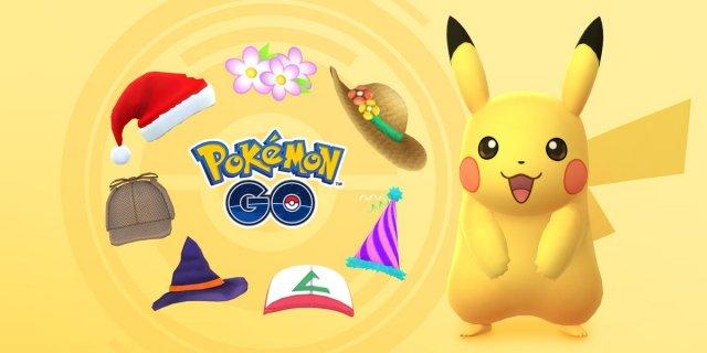 Monday: Pokémon GO - Hat Pikachu Event - Serebii net News