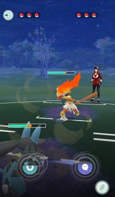 Pokémon GO - Trainer Battles
