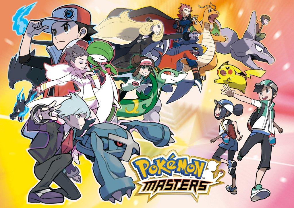 Pokémon Masters - Sync Pairs - Trainers & Pokémon