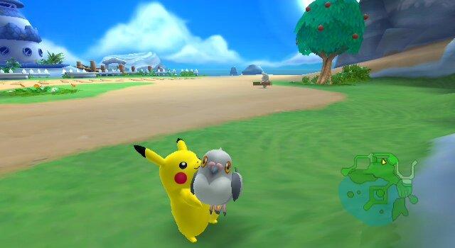 how to change pokemon in pokepark 2